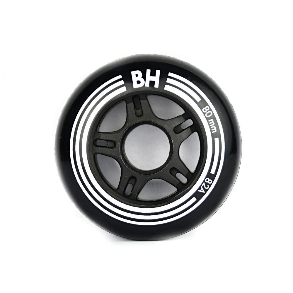 Sada 8 ks in-line koleček BH Black 80mm/82A