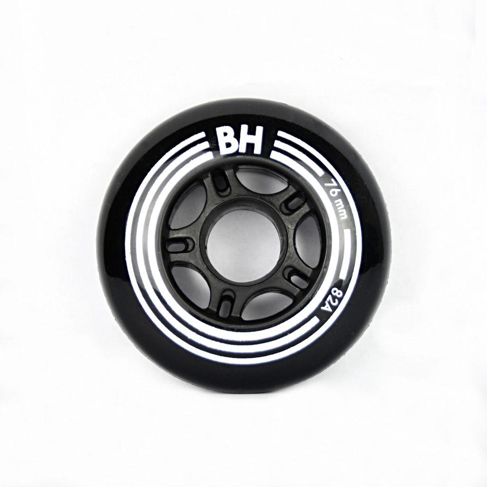 Sada 8 ks in-line koleček BH Black 76mm/82A (8ks)