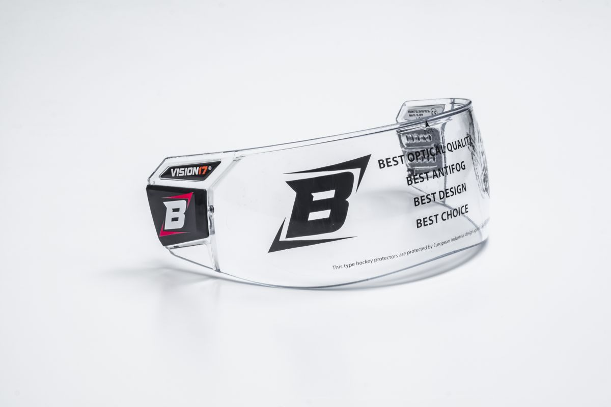 BOSPORT VISION17 PRO Box plexi B2 - čiré